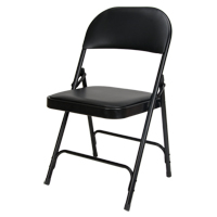 Vinyl Padded Folding Chair OP962 | KLETON