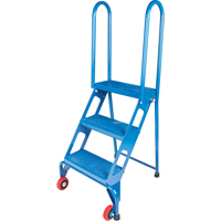 Foldable Rolling Ladder | KLETON